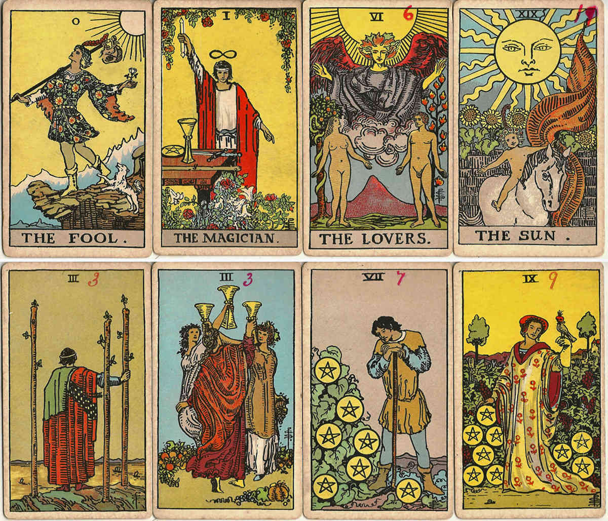 """Pam-A"" version of the Rider Waite Tarot"