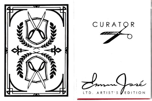 Curator Deck with designs by Emmanuel José, 2011