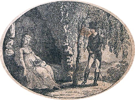 Book illustration by Vincenz Raimund Grüner (1771–1832)