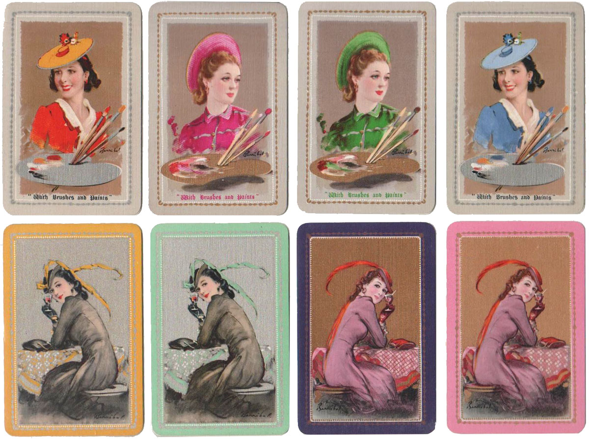 Waddingtons 'Barribal' playing cards