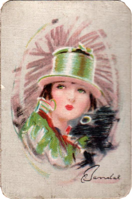 Waddingtons Patience cards from the Barribal Series, c.1929