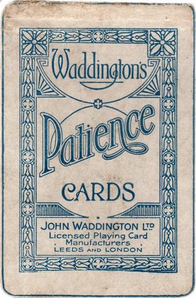Waddingtons Patience, c.1929
