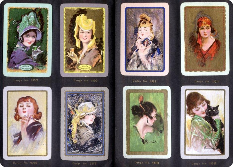 Waddingtons 'Barribal' playing cards series, 1933