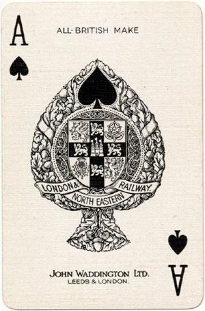 Beautiful Britain Ace of Spades, 1924-1929