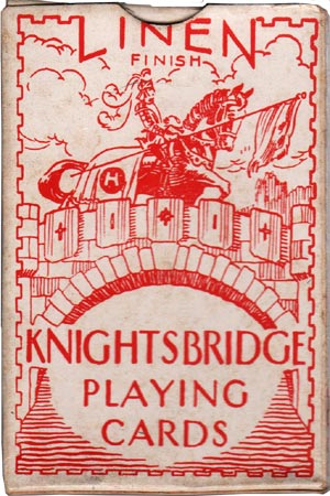Knightsbridge Playing Cards, c.1938