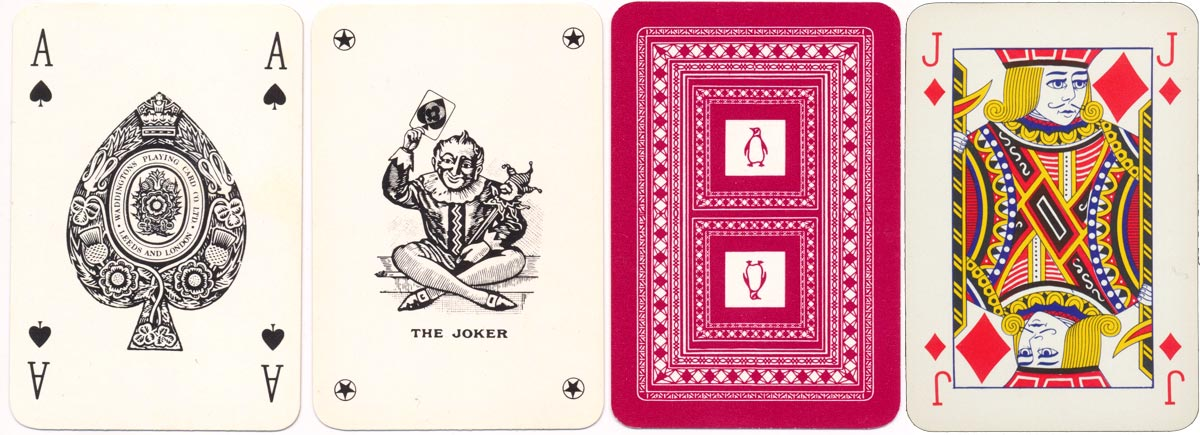 patience sized pack published for Penguin books in c.1975