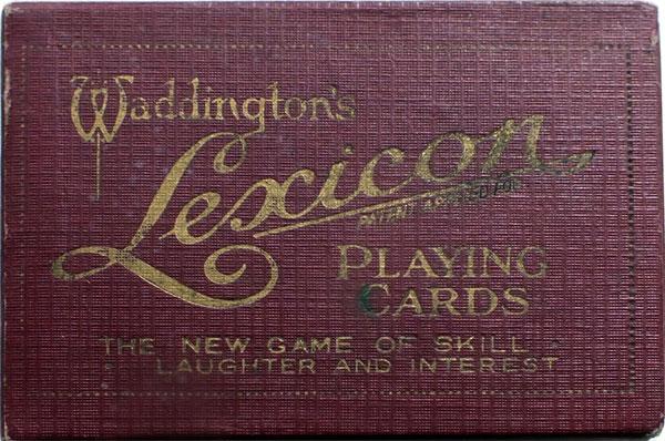 Lexicon, 1932