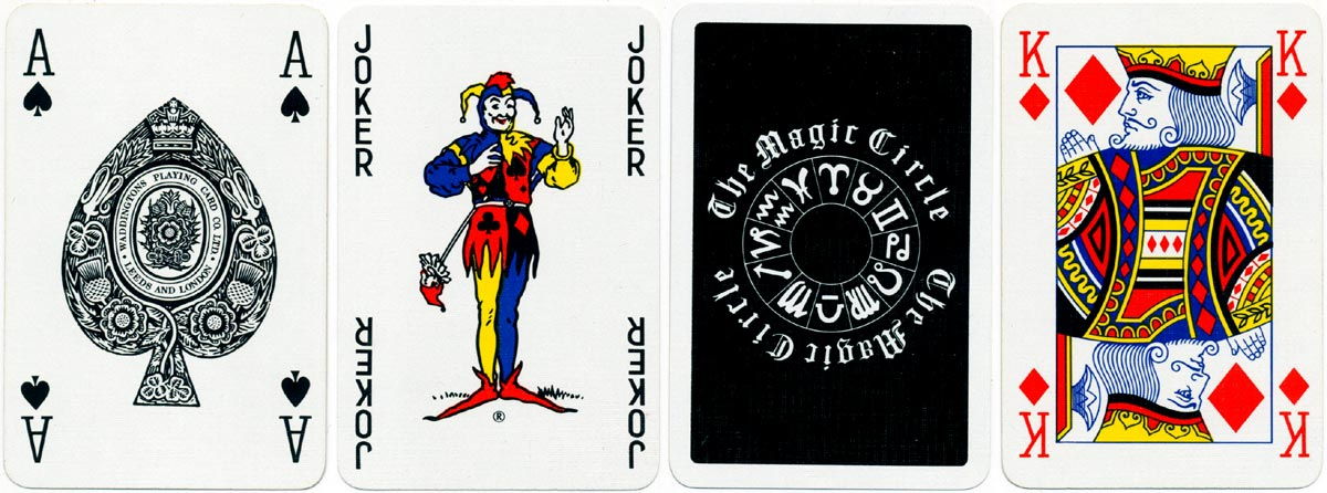 Advertising deck for Magic Circle by Waddingtons