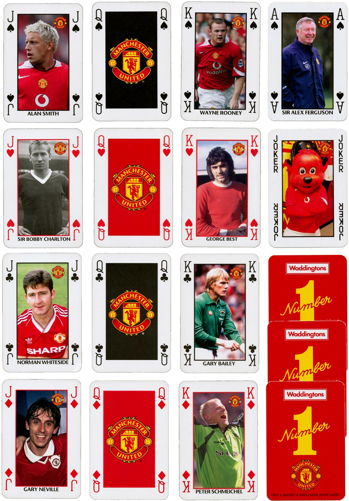 Manchester United by Waddingtons 'Number 1' published by Breadwinners in 2006