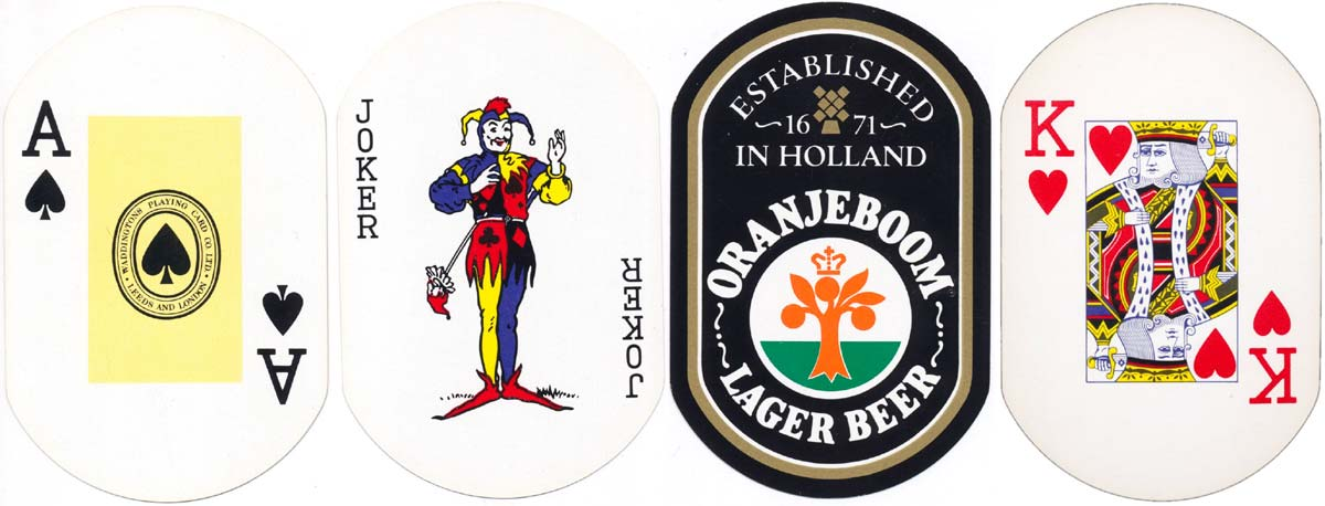 advertising deck for Oranjeboom lager beer, late 1970's