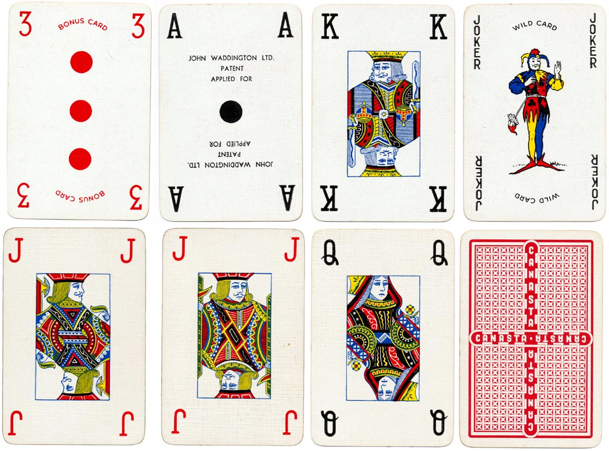 "Waddington's ""Real Canasta"" cards, 1952"