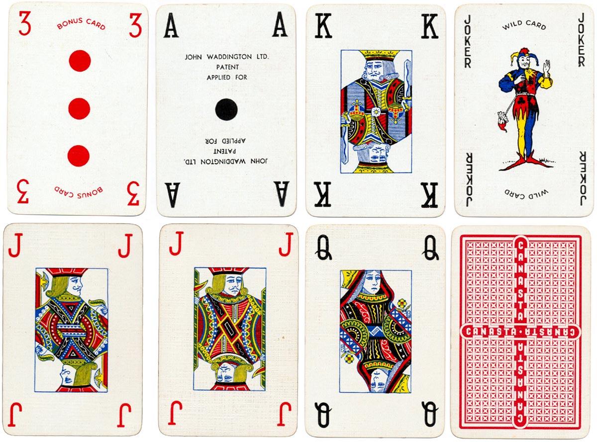 "Waddington's ""Real Canasta"" cards, 1952"