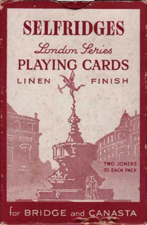 Selfridges London Series, 1952-55