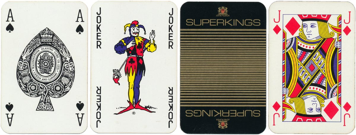 Advertising deck for John Player Superkings by Waddingtons
