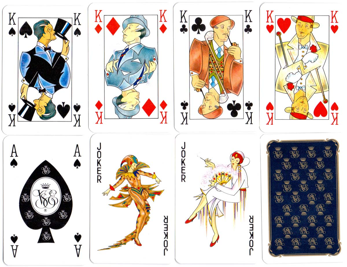 Orient Express playing cards by Waddingtons, c.1990