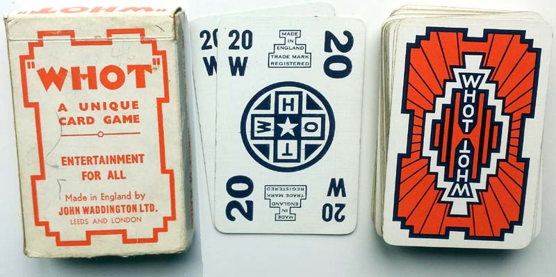 Whot card game, 1935