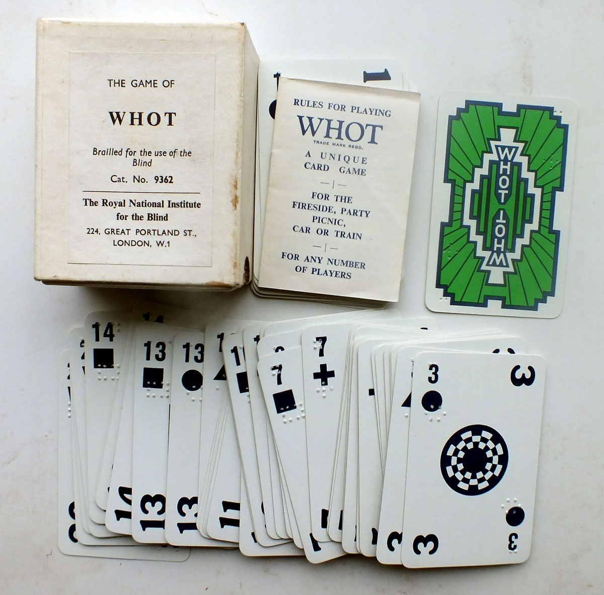Whot The World Of Playing Cards