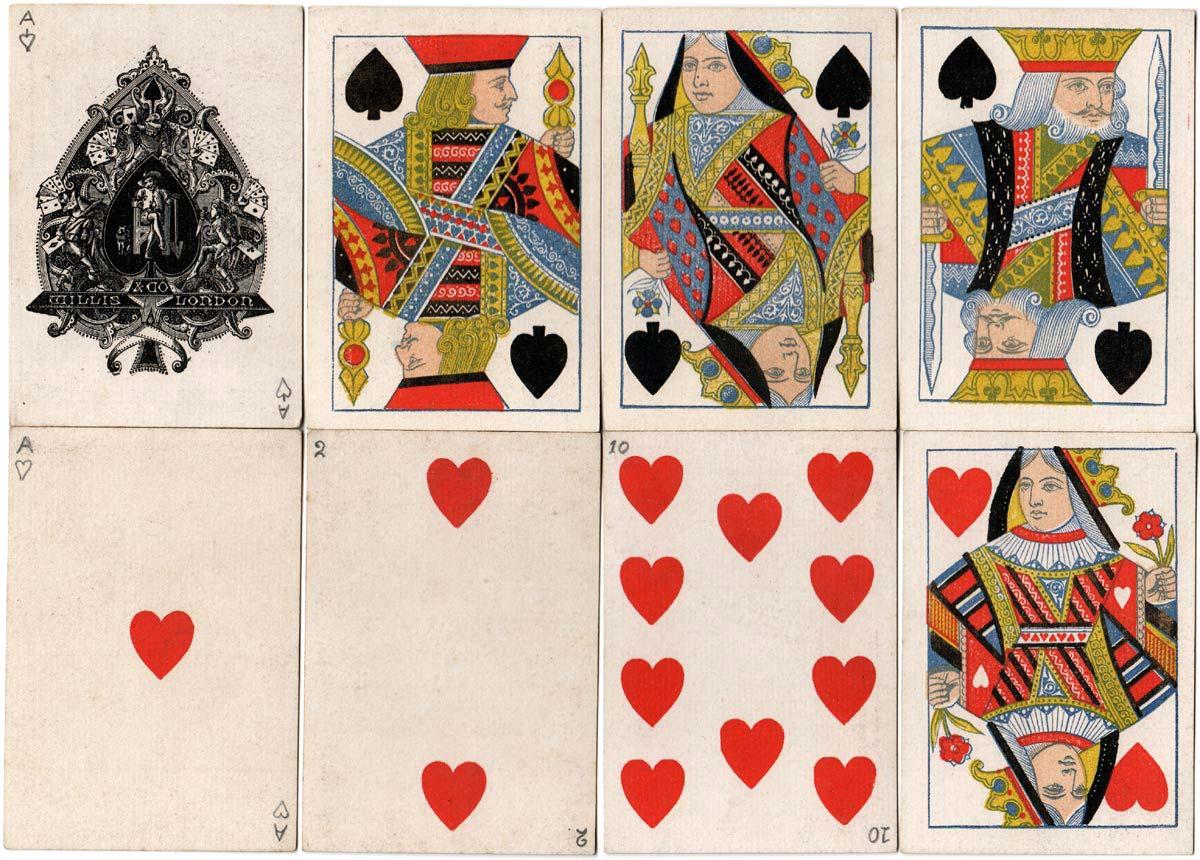 Willis playing cards, c.1875